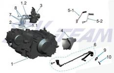 Motor & Vergaser PBR