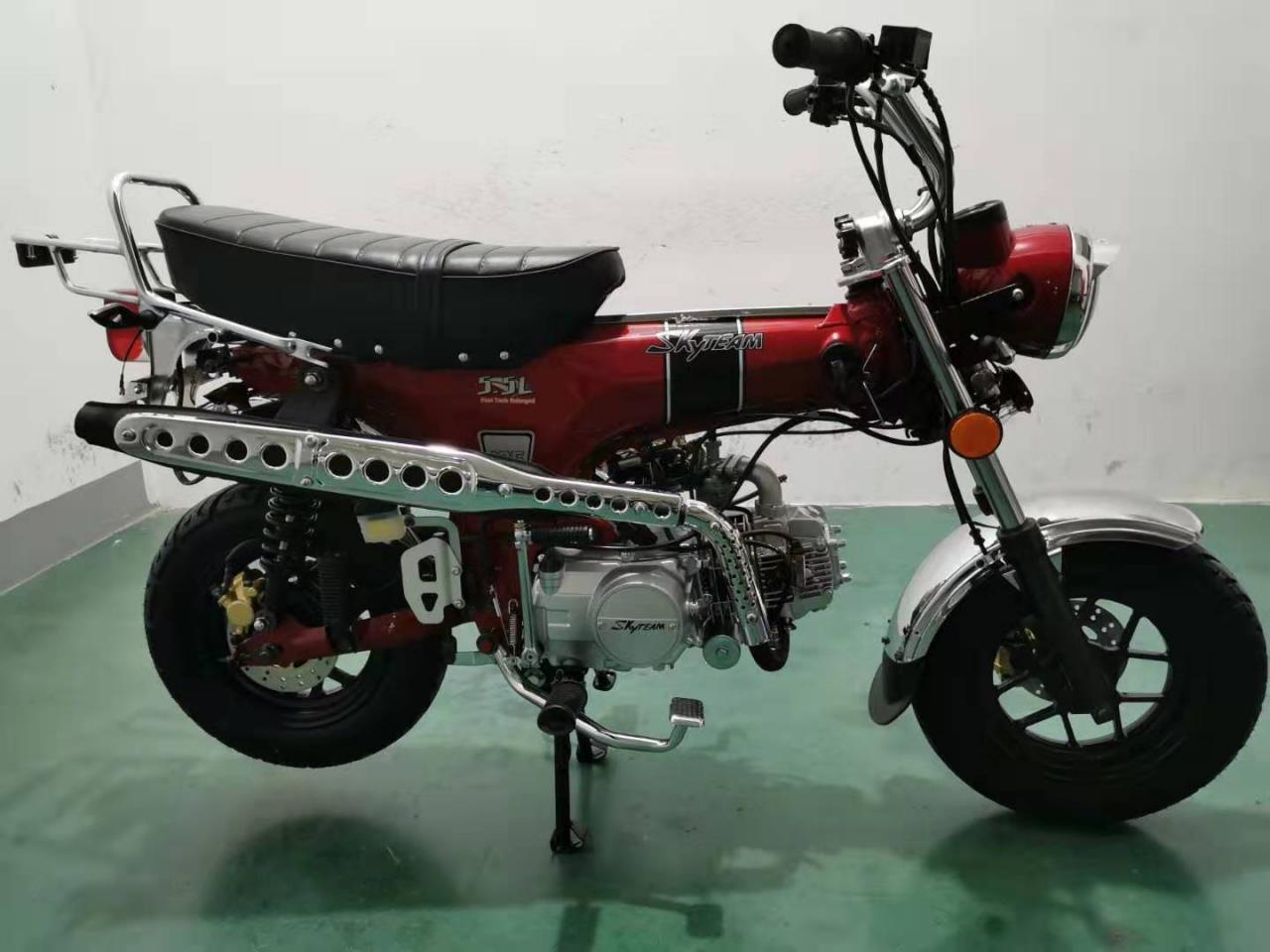SKYTEAM  SKYMAX 125-6 e-Carb de LUXE Metallic-Red