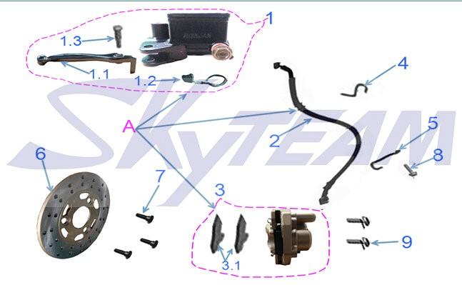 -8/-6/PBR Bremsscheibe 180mm