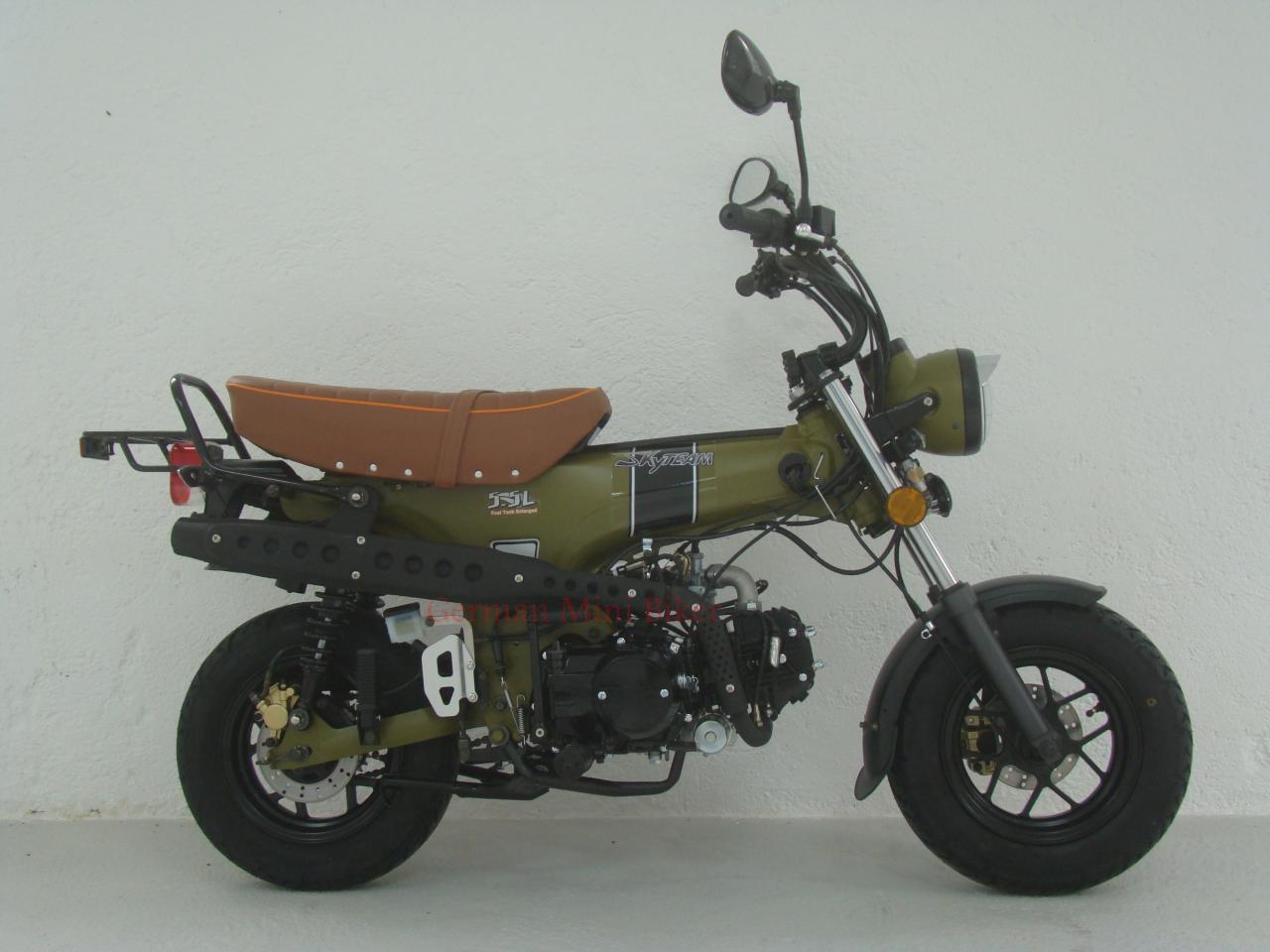 SKYTEAM  SKYMAX 125-6 e-Carb de LUXE Army-Green