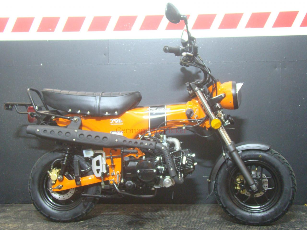 SKYTEAM  SKYMAX 125-6 e-Carb de LUXE Orange