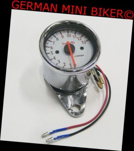 Drehzahlmesser für Vergaser 50cc/125cc komplett