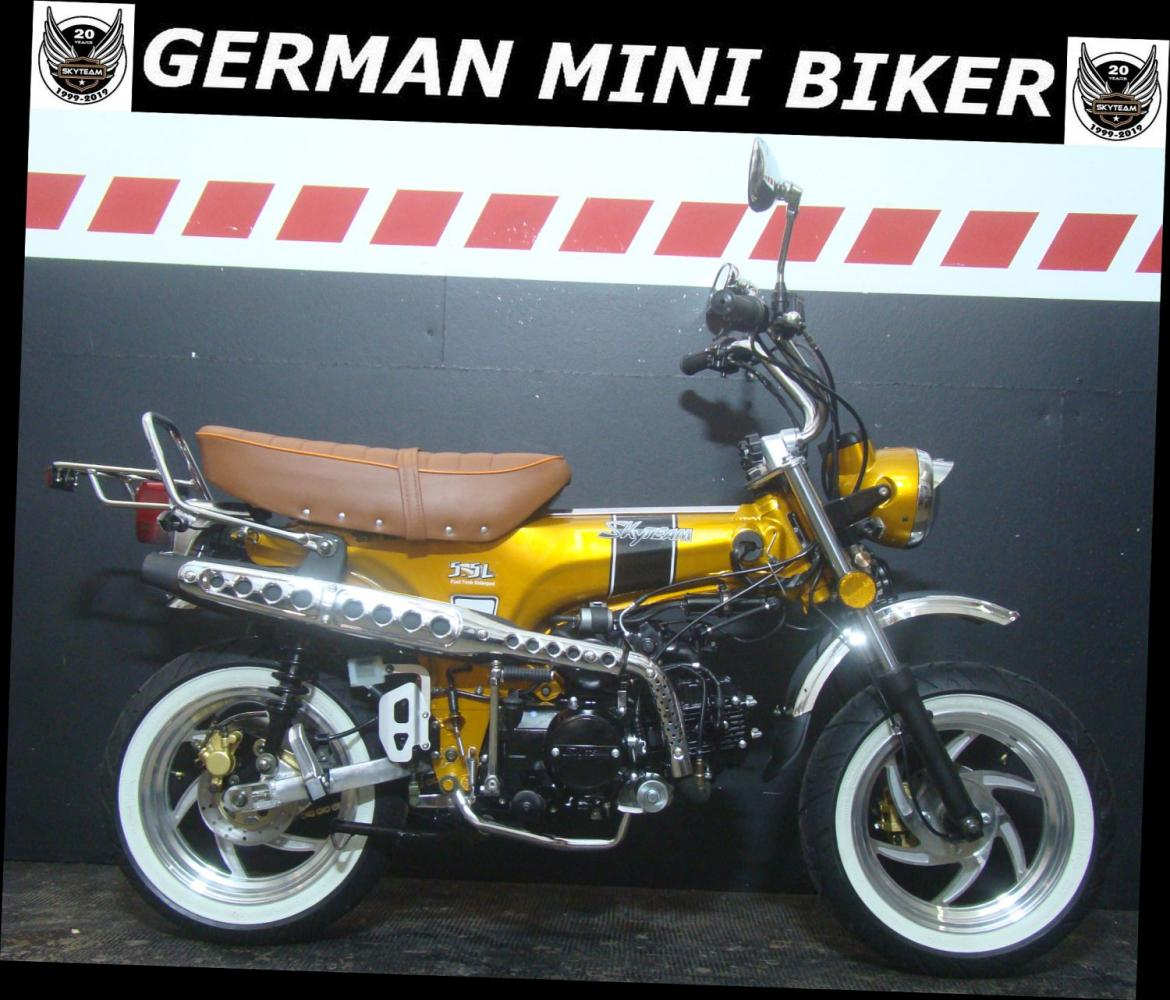 """SKYTEAM  SKYMAX 125-6 12"""" SPECIAL-EDITION INJECTION Gold"""