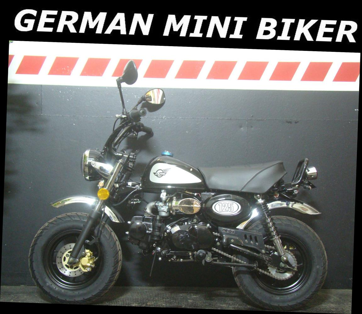 SKYTEAM SKYMINI 125-8 e-Carb de Luxe BLACK