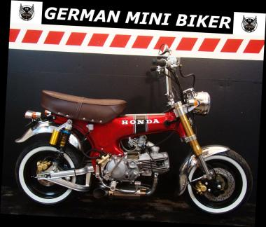"HONDA DAX 150 PRO ""COSTUM-SUPERMAX"" CANDY-RED-EDITION de Luxe"