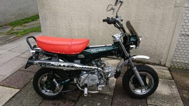 Skymax 125 Club-S Racing Green