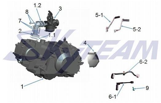 -PBR Ansaugstutzen 50cc ohne Drossel