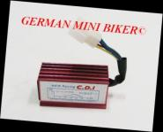 Renn-CDI 12V offene Leistung & Frühverstellung der Zündung für max. Leistung!