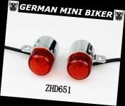 Blinker Retro-Style orangeglas 1 Paar   ZHD651