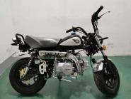 SKYTEAM SKYMINI 125-8 e-Carb de Luxe BLACK - Motor SILVER!