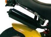 -PBR Auspufftopf 125cc EU3 schwarz mit Zulassung!