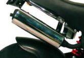 -PBR Auspufftopf 50cc EU2 chrom mit Zulassung für 50cc!