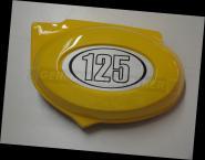 Seitendeckel Batterie 125cc Links GELB