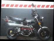 SKYTEAM  SKYMAX 125-6 e-Carb de LUXE METALLIC-BLACK