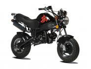 -PBR Auspuff 50cc EU2 chrom original - obenliegend