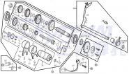 Simmerring Schaltwelle ABB. 34 1P52FMI-Motor 125 Loncin