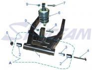 -PBR Gummilager Hinterradschwinge 1 Stück