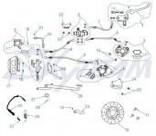-8/-6 E4 Bremsbeläge vorn - Bremssattel vorn - CBS-Bremssystem Abb.2.1