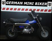 T-REX 125 CLUB-INJECTION BLAU