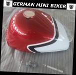 TANK Rot-Weiß Skymini 4,5 Liter mit Tankdeckel & Benzinhahn