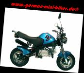 -PBR Auspuff 125cc EU3 schwarz original - obenliegend